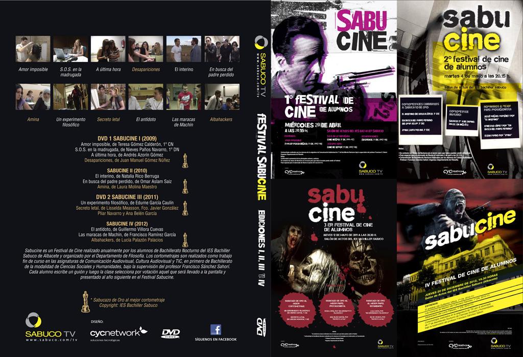Caratula del DVD Sabucine