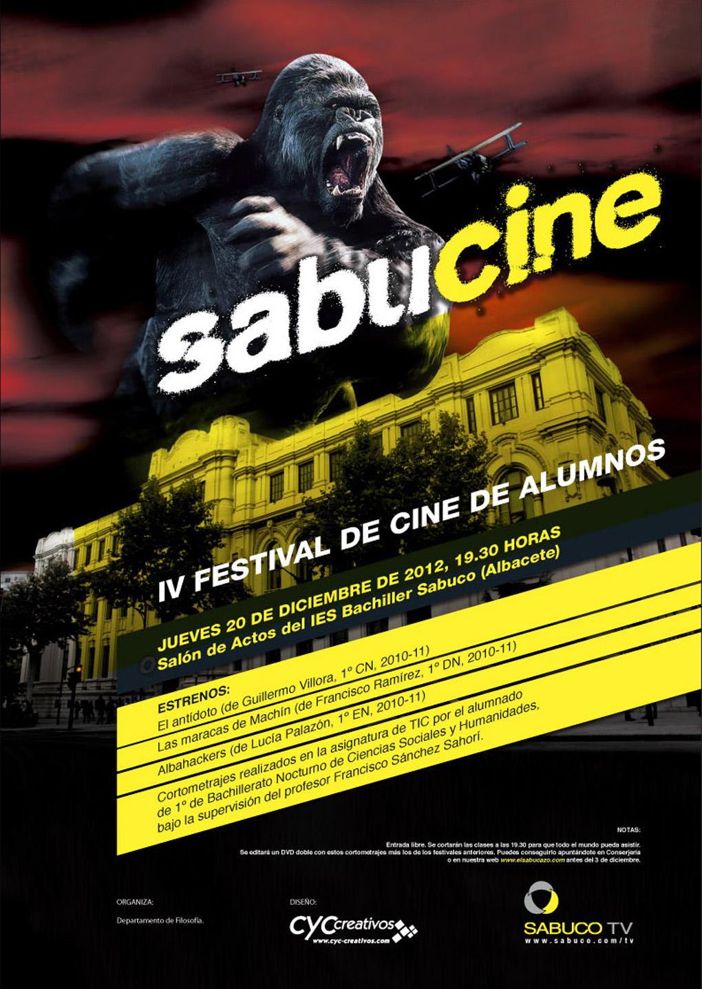 Cartel oficial del IV Sabucine