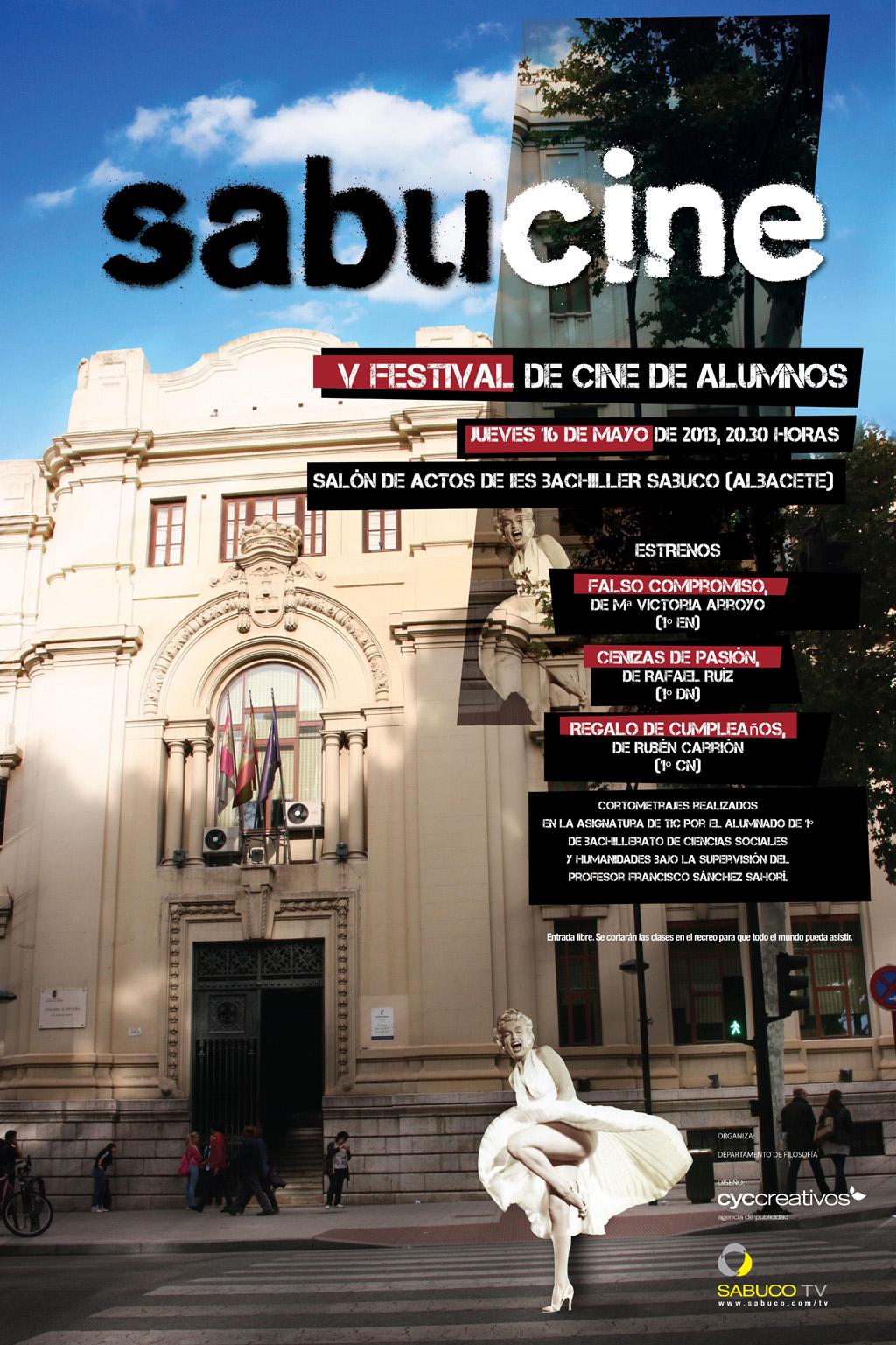 Cartel del V Sabucine