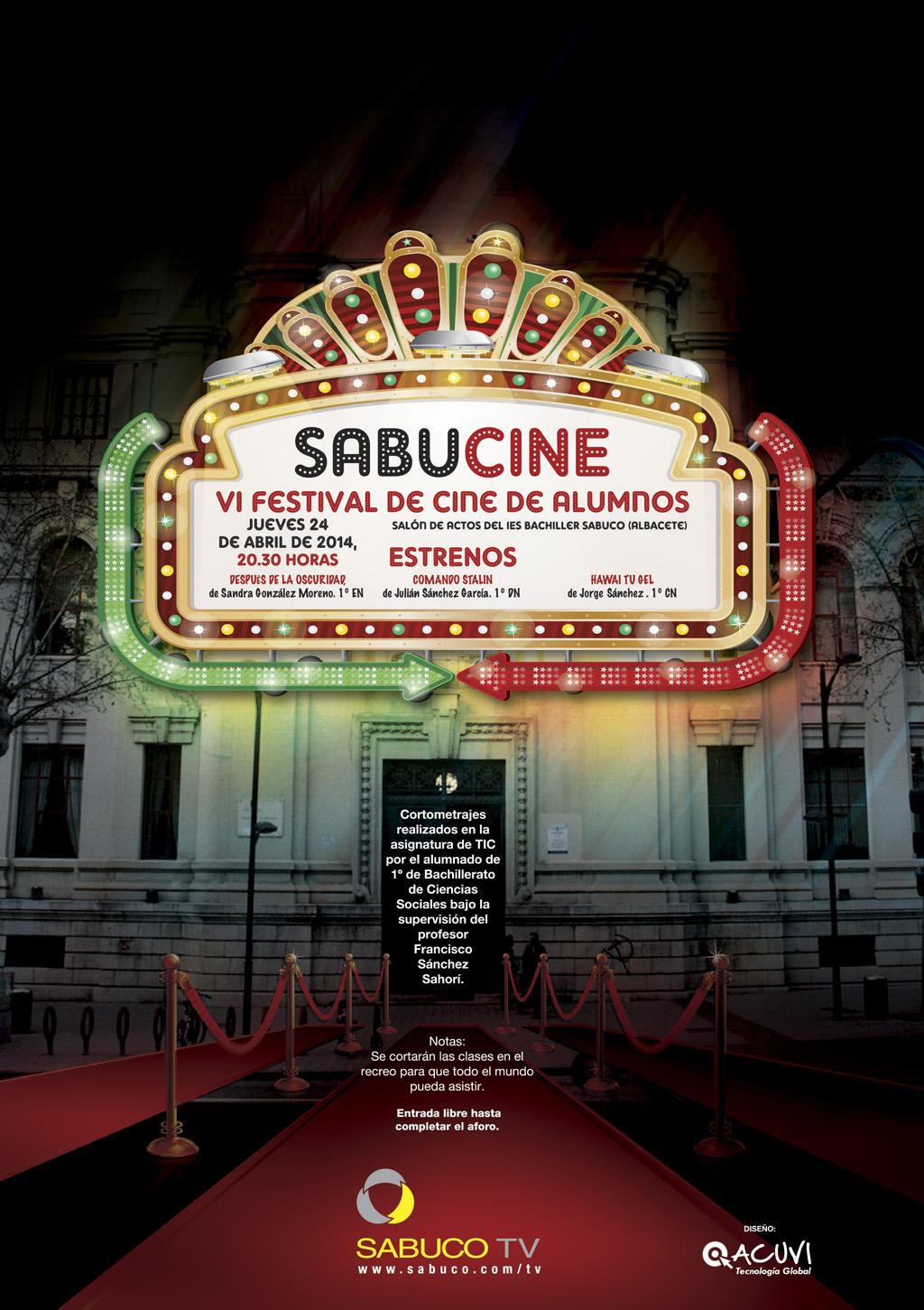 Cartel oficial del VI Sabucine